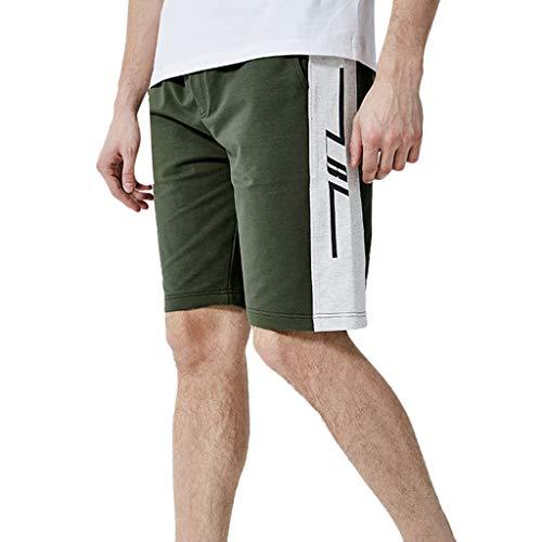 Jaminy Shorts kurz Sporthose Herren Laufshorts Laufhose Sport Shorts Kurze Hose Jogginghose kurz Trainingsshorts S-2XL (Armeegrün, S)