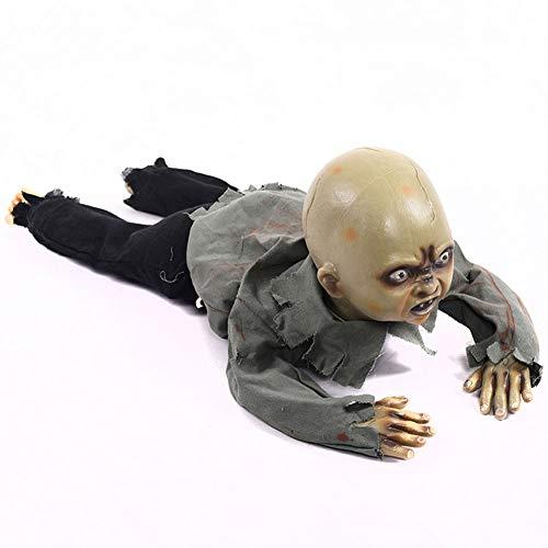 Jke psn Kriechender Geist der Halloween-Dekorationen, der BB-Geist genannt Wird, verziert Bar-Geisterhaus-Geheimraum-Props-Dekoration 226 Verkleidung