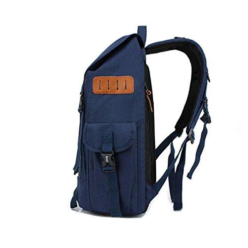 Outdoor Multifunktions-Schultertasche Mit Großer Kapazität Beiläufige Art Und Weise Taschen blue
