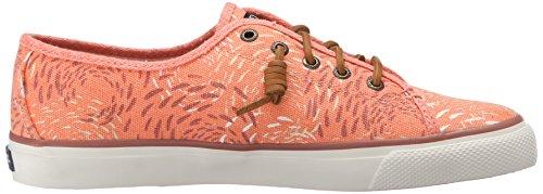Sperry Seacoast Fish Crcle Coral, Scarpe da Ginnastica Donna Rosa (Rosa (Pink))