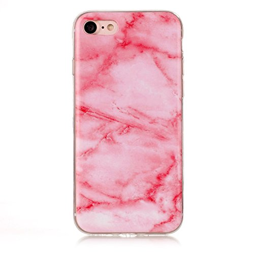 Pour Apple IPhone 6 6s Plus Case Marbling Texture Soft TPU Cover Slim Ultra Thin Anti-Scratch Shock Absorption Protective Back Cover Shell ( Color : Q ) N