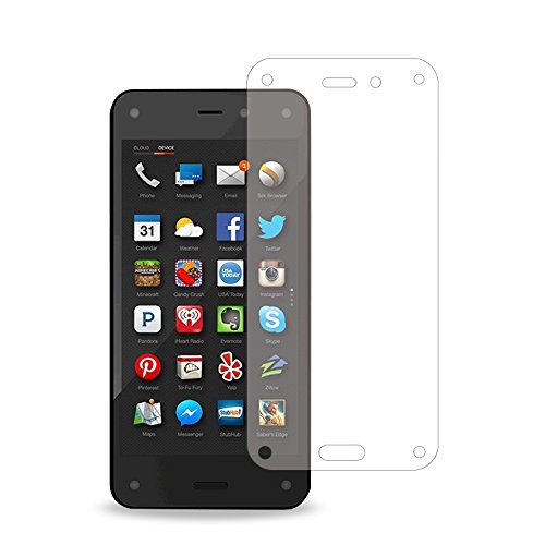 Reiko 2-Piece Screen Protector for Amazon Fire Phone US Carrier AT&T - Retail Packaging - Clear