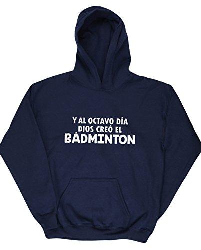 HippoWarehouse Y Al Octavo Día Dios Creó El Bádminton jersey sudadera con capucha suéter derportiva unisex niños niñas
