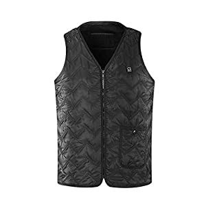 41rMwWm0NgL. SS300  - DZX Electric Vest/Heating Vest/USB Heating Clothes/Electric Jacket -For Ski Camping Skating Fishing And Hunting Keeping…