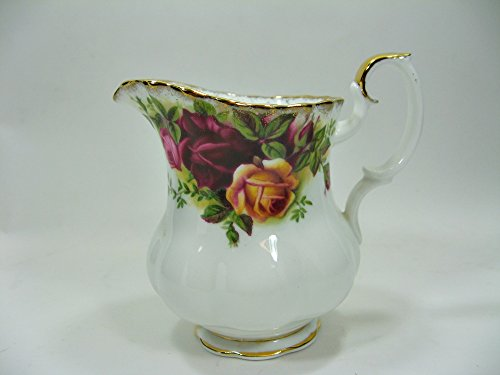 Ochs- Royal Albert Old Country Roses - Milchgieser - Höhe ca 9,2 cm Ø ca. 6,5 cm Royal Albert Old Country Roses