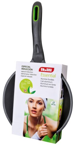 IBILI 409020 Poêle Essential 20 cm en fonte d'aluminium