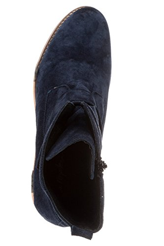 Ulla Popken Femme Grandes Tailles Bottines 711657 Bleu Marine