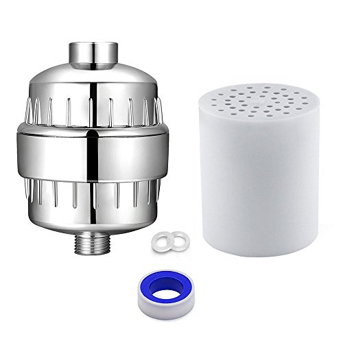 Shower Water Filter Remove Chlorine Heavy Metal With Replaceable Cartridge