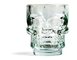 Kikkerland Gl06 Schnapsglas Skull Im 4-er Set
