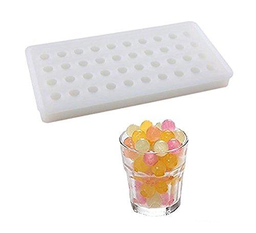 SWEET CANDY BAKERY Eiskugeln Form aus Silikon Eiswürfelform Eis-kügellchen Eiskugeln Kugel-form Schokoladen-form Pralinen-form