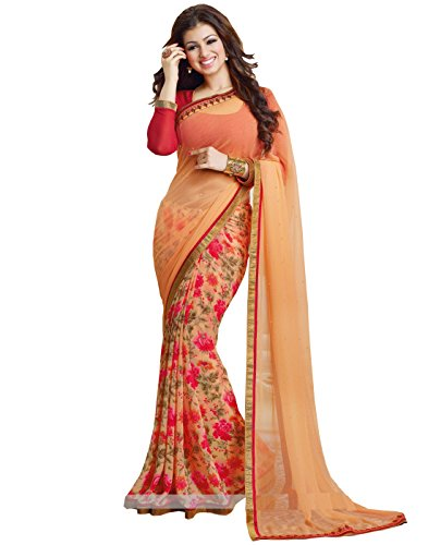 Saree ( Sarees Creation Attrective Multi-colored Printed Saree)