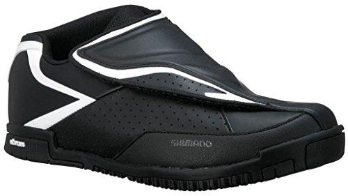 Shimano Chaussures de vélo Adulte All Mountain SH-AM41Gr. 45Vibram Semelle Sans Chaussures SPD, E de sham4145 mehrfarbig