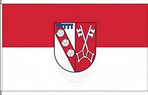Königsbanner Hissflagge Perl - 120 x 200cm - Flagge und Fahne