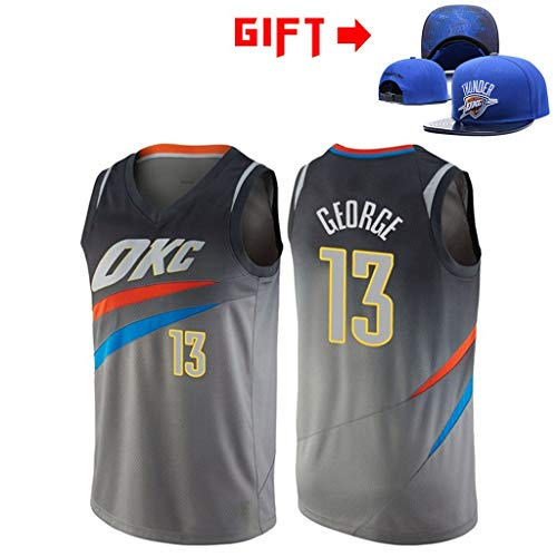 HWHS316 OKC # 13 Paul George Uniformes De Baloncesto