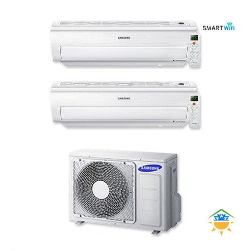 Condizionatore Dual Split Samsung Inverter AR5500M Smart Wi-Fi 9000+12000 AJ040FCJ2EH/EU