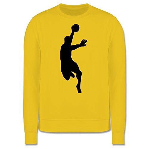 Handball - Handball - Herren Premium Pullover Gelb