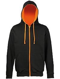 Awdis - Sweatshirt à capuche et fermeture zippée - Homme