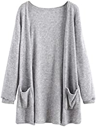 Internet Las mujeres del otoño de manga larga blusa suelta chaqueta de la capa de rebeca