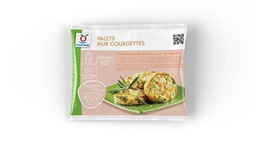 Toupargel 8 Palets aux Courgettes 300 g Surgelé
