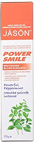 Jason Natural Cosmetics Powersmile Toothpaste, 6 oz by Jason