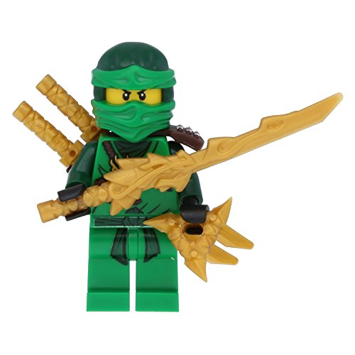 ur Grüne Ninja Figur Lloyd green mit 5 Waffen inkl. Drachenschwert ()