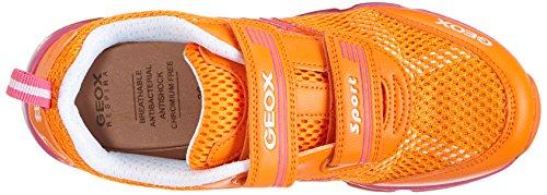 Geox J ANDROID A Mädchen Sneakers Orange (ORANGE/FUCHSIAC2237)
