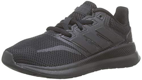 Adidas RUNFALCON K, Zapatillas de Trail Running Unisex niño, Negro Negbás Negbás Negbás 000, 35...