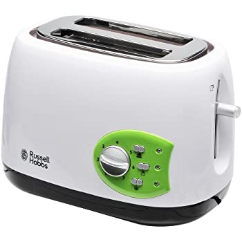 Russell Hobbs 19640-56 Kitchen Collection Grille-Pain Blanc/Vert 650 W