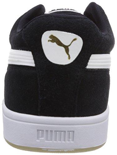 Puma - Suede S, Scarpe da ginnastica Uomo Black - Schwarz (black-white 03)