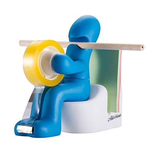Ailiebhaus der Butt Office Supply Station Schreibtisch Zubehör-Halter Toilet,Blau (Office-tablet)