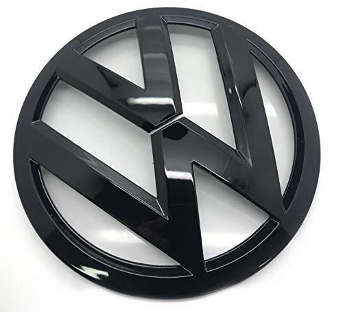 Schwarz glänzend 135mm Vorderes Grill Bonnet Abzeichen Emblem Für Golf MK7 2012+