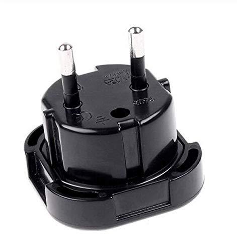 UK nach EU Europäischer Adapter Universal Reiseladegerät Stecker Konverter Wandsteckdose 2 Pin 240V -