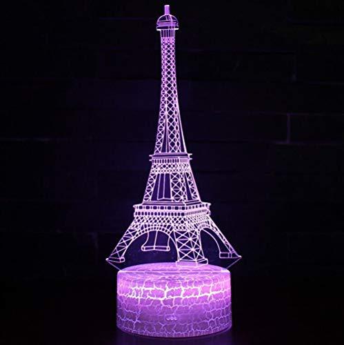 3D Nachtlicht - 3D Illusion Lampe für Jungen 16 Farbwechsel Fernbedienung Kinderzimmer Dekor Beleuchtung