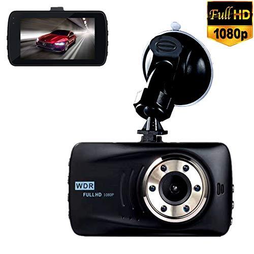 Dash Cam 1080P Caméra De Recul 720P Double Caméra Étanche Avec Enregistrement En Boucle, HDR, Moniteur De Stationnement, Détection De Mouvement
