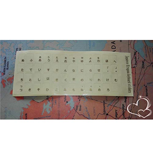 Etiquetas engomadas japonesas teclado Etiquetas engomadas