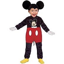 Ciao 11247.18,24 , Disney Costume Baby Mickey Classic, Nero/Rosso, 18