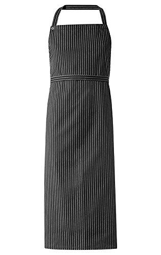 Greiff Latzschürze BISTRO CLASSIC, 4400, schwarz weiß gestreift, 3-er Pack -
