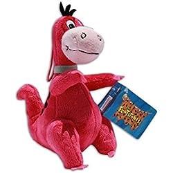 Dino Peluche 19cm Los Picapiedra Muñeco Dinosaurio Mascota Flintstones Serie Clasica Dibujos Animados TV
