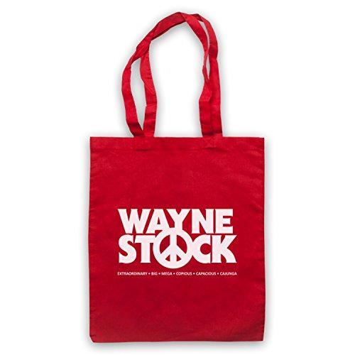 Ispirato Da Waynes World 2 Waynestock Borse Rosse Non Ufficiali Del Capo