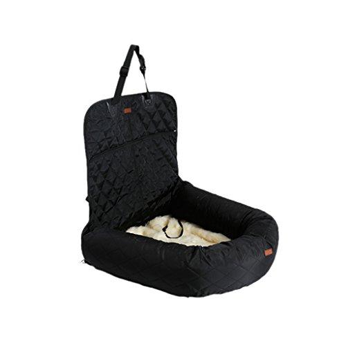 MagiDeal Haustier Auto Tasche Sitzbezug Komfortable & Haltbar für Hunde Wasserdicht Nylon - Schwarz