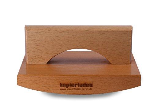 Wiegestempel timbro in legno con logo o testo, 100 x 150 mm, timbro di grandi dimensioni, personalizzabile, timbro da ruotare