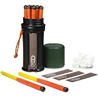 UCO Unisex's Titan Stormproof Match Kit, Green, One Size