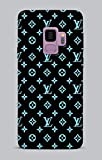 PhoneCasing Flexible Silikon Schutzhülle Ultra-Slim Gel TPU Bumper Cover Durchsichtige Rückschale Weiche Silikon Ultradünne Kristallklare Handyhülle für Samsung Galaxy S9 Brands 077 Louis Vuitton