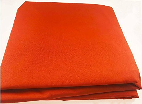Mitef UV Block Triangle Sunshade Sail Canopy for Outdoor Patio Garden Sun Shelter,9.8'×9.8'×9.8'(3×3×3m),Orange