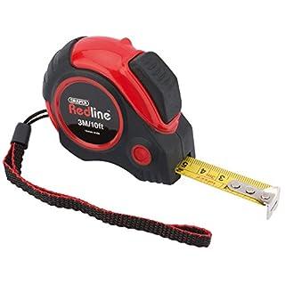 Draper Redline 69492 3 m/10 ft Auto Locking Metric/Imperial Measuring Tape
