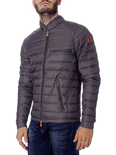 Giubbotto Save The Duck Inverno 2017 in Plumtech D3543M CharacoalGrey(Grigio)70, L MainApps