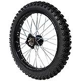 "Roue avant 17"" - Axe 15mm - Acier - Dirt Bike"