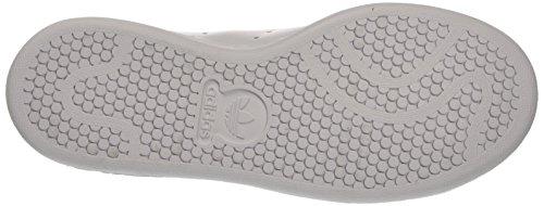 adidas Stan Smith, Sneaker Bas du Cou Mixte Enfant Blanc Cassé (Ftwr White/ftwr White/gold Metallic)