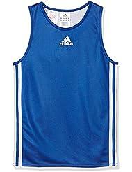 adidas Y Team REV JER - Camiseta para niño, color azul/blanco, talla 152