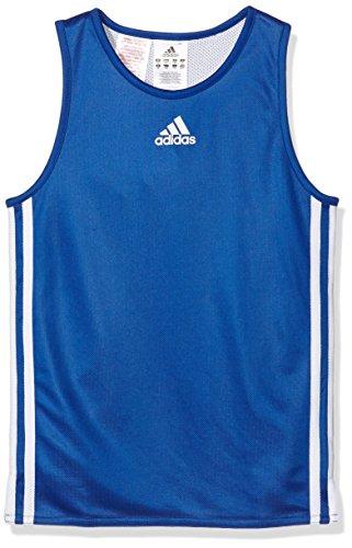 adidas Team REV Jer T-Shirt für Kinder, blau/weiß, 128